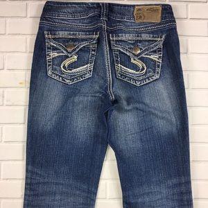 Silver Jeans SUKI Bootcut woman's size w32 L25